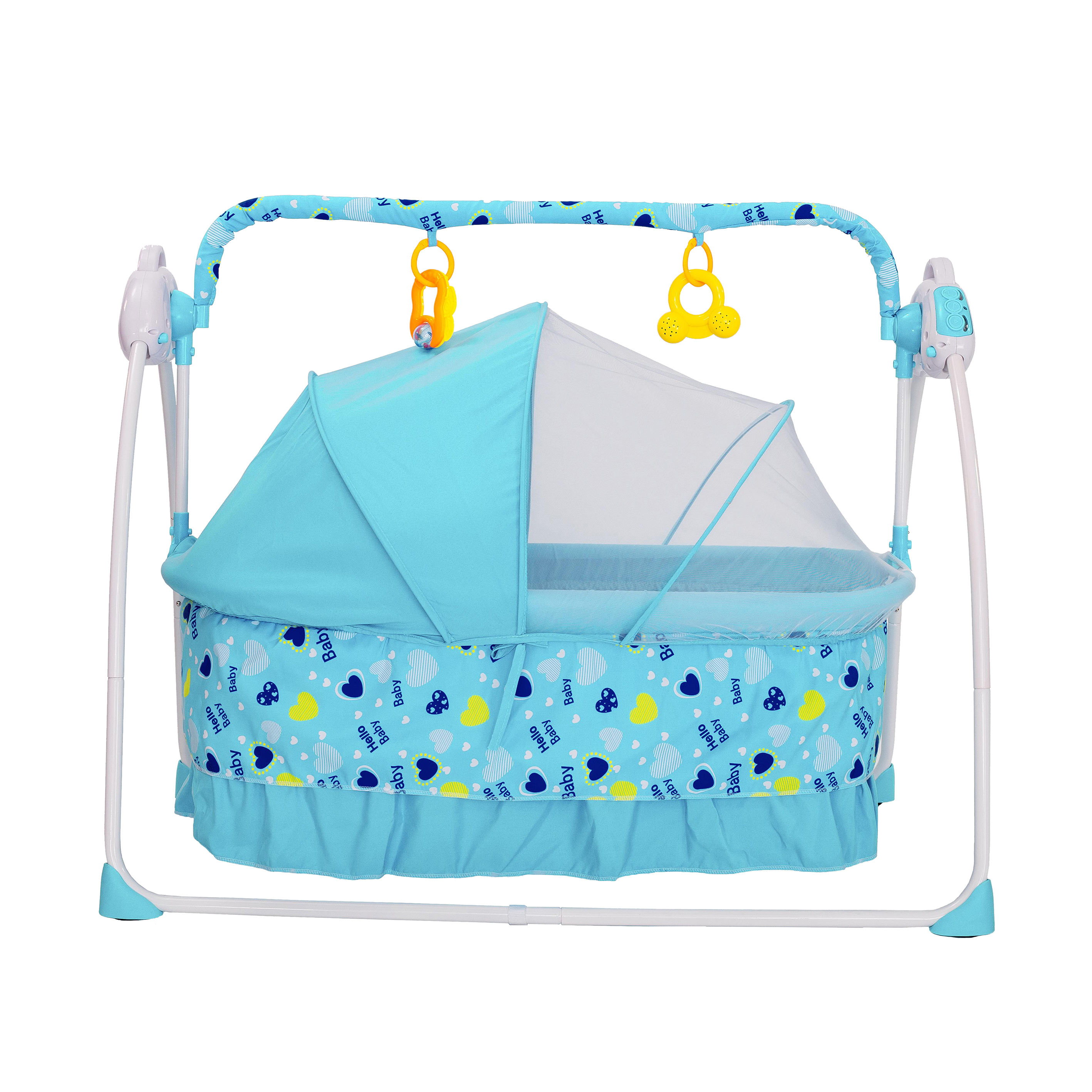 Baby swing crib electric cradle 508 automatic swing baby crib baby folding bed