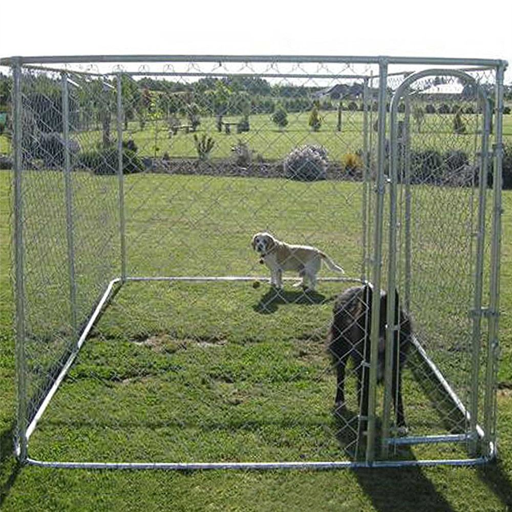 Foldable outdoor dog crate pet play pen enclosure for dog yard garden fence
