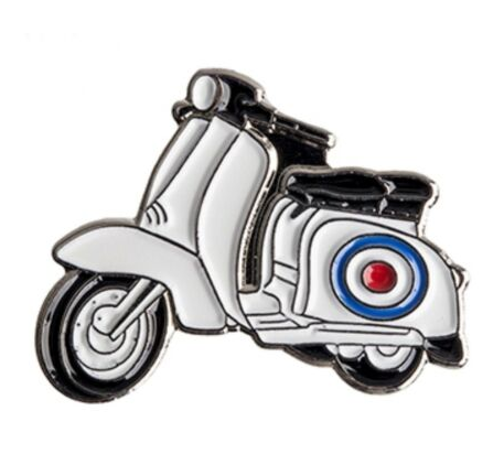 scooter badge motorcycle badge PIAGGIO VESPA  Italian Club badge
