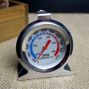 Food Meat Temperature Stainless Steel Gauge Gage Kitchen Cooker Baking Supplies Stand Up Dial Oven Thermometer