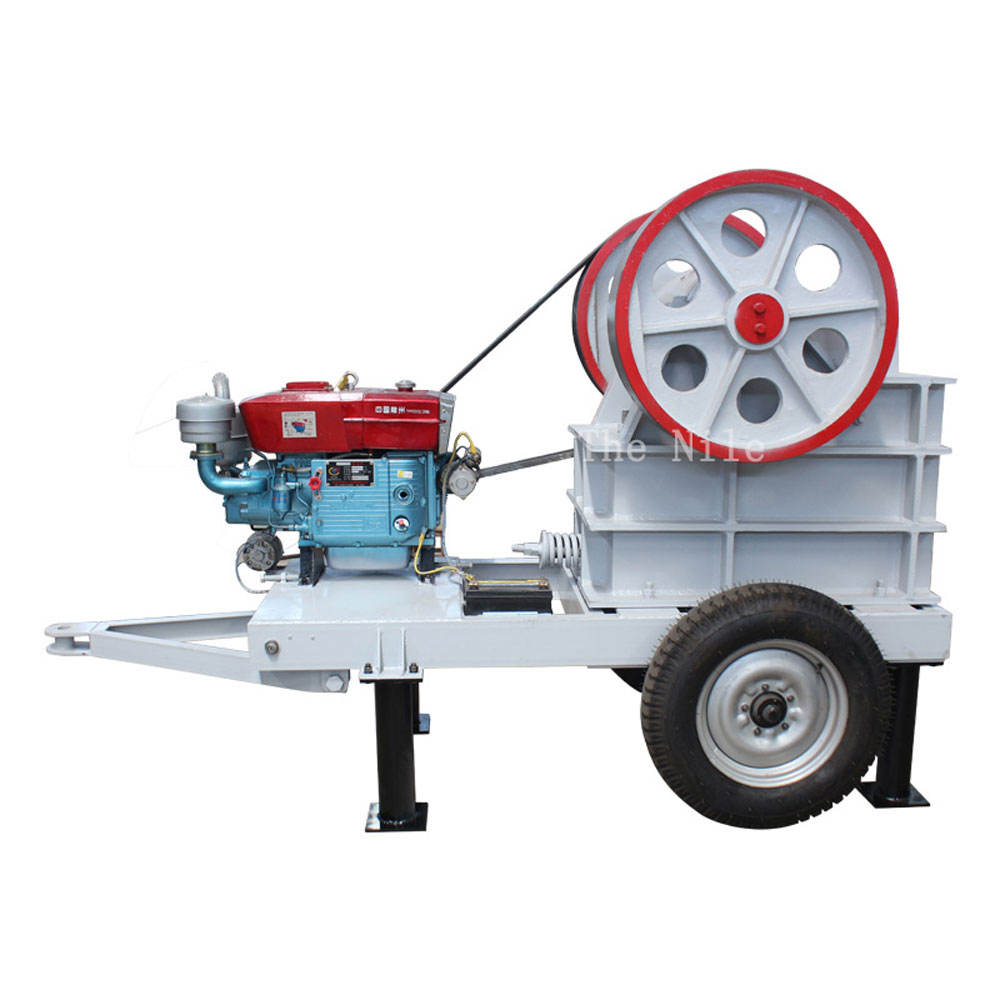 Rock Stone Jaw Crusher List Diesel Engine Portable Crushers