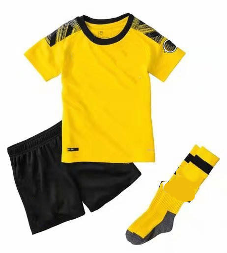 Custom Children's Football Clothing and Socks Wholesale football jersey kit Children's Sports Short-sleeve Suit