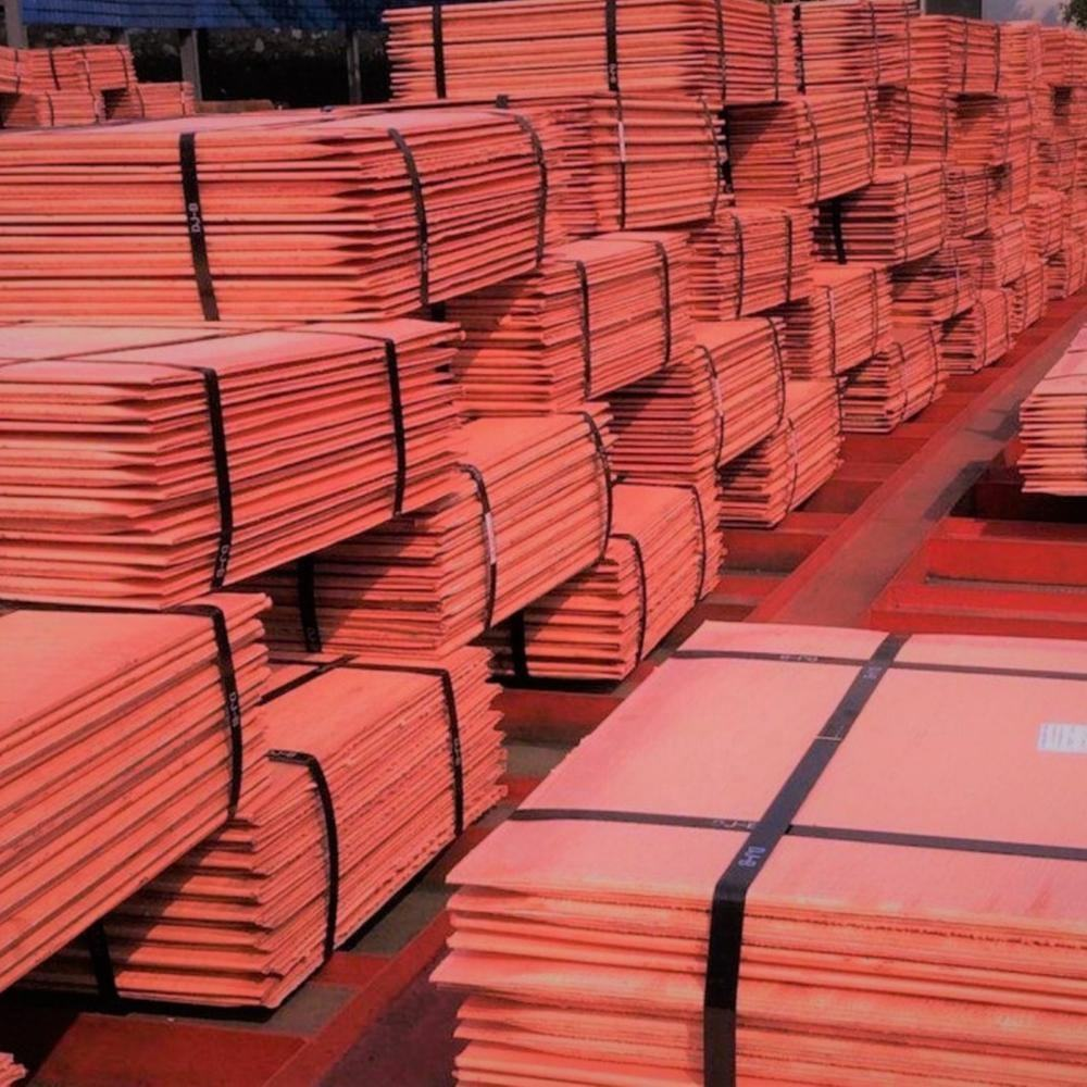 factory price 99.99% pure copper cathode cheap price