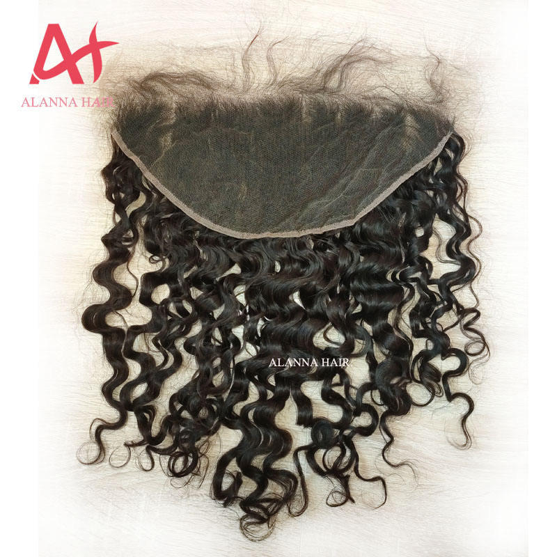 Perruque Lace Frontal wig cheveux péruviens — ali queen, cheveux humains, pre-plucked, Hd 13x6, Swiss Lace, Deep wave, bouclés, 13x6