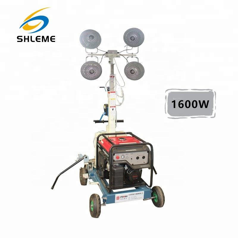 1600W mobile light tower
