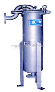 Shanghai Dazhang Industrial Bag Filter Stainless Steel Single Bag Housing Liquid Filtration Low Running Cost
