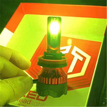 Car LED Fog Lights Bulbs 880 881 H3 H11 H4 H7 9005led headlight  Lemon Color automobiles & motorcycles Fog Lamps LED Lighting