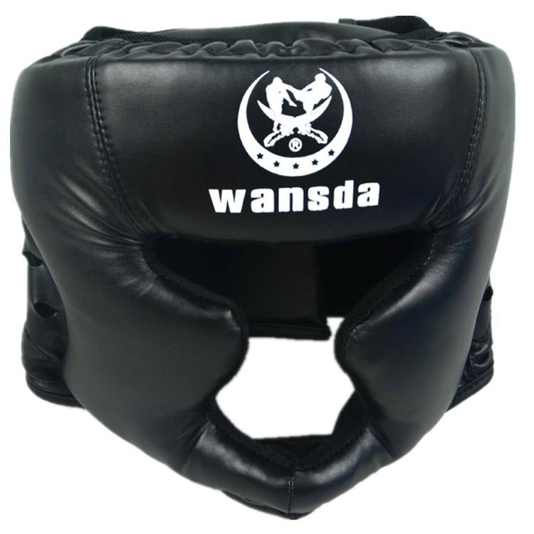 Adjustable MMA UFC Training Boxing Muay Thai Kickboxing Helmet Head Guard for Adult and Child