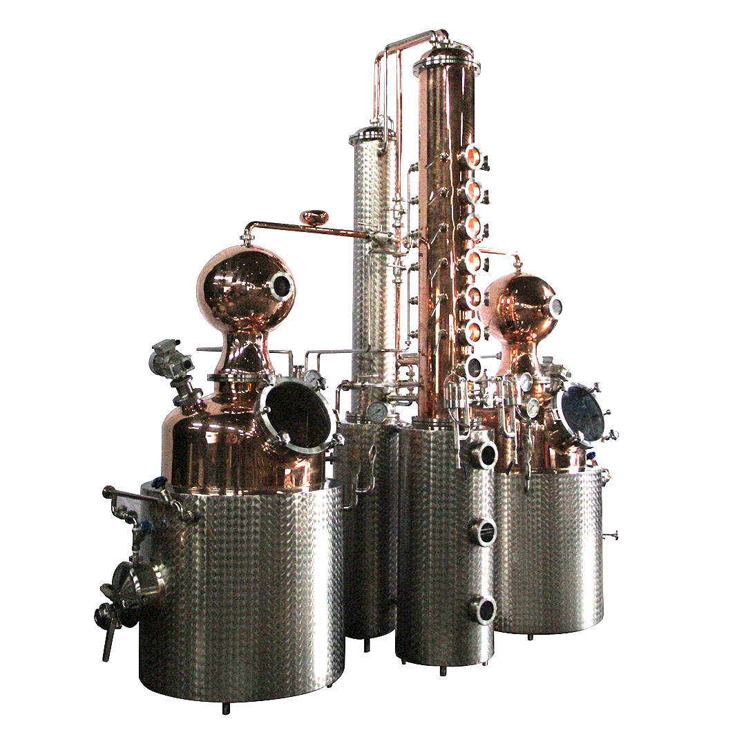 500L copper distilling equipment for ciroc vodka