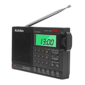 2019 New arrivals LCD screen display portable FM MW SW air band radio