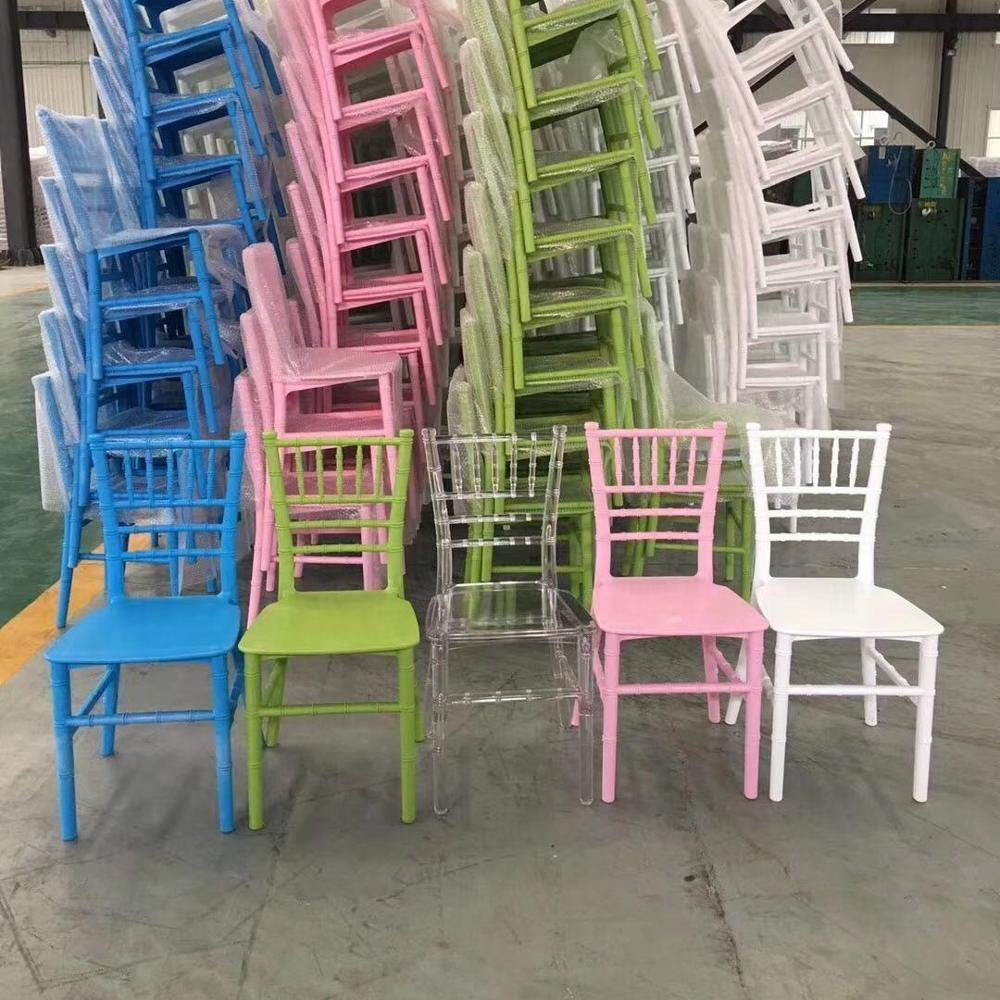 Plastic Banquet Chiavari Chair for kids party chairs plastic chair for kids
