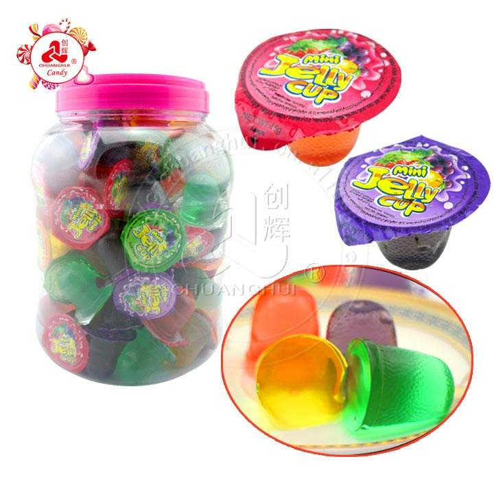 Jelly Cup in Round Jar