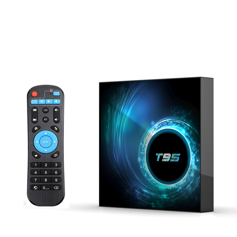 2020 Hot T95 H616 Android 10.0 Smart TV Box H616 2.4G Wifi del Android 4K HDR 2GB di RAM 16GB 32GB 64GB di ROM Set-top Box Media Player