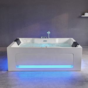 Hot sale freestanding bathtubs whirlpool spa hot tub  adult massage bath tub