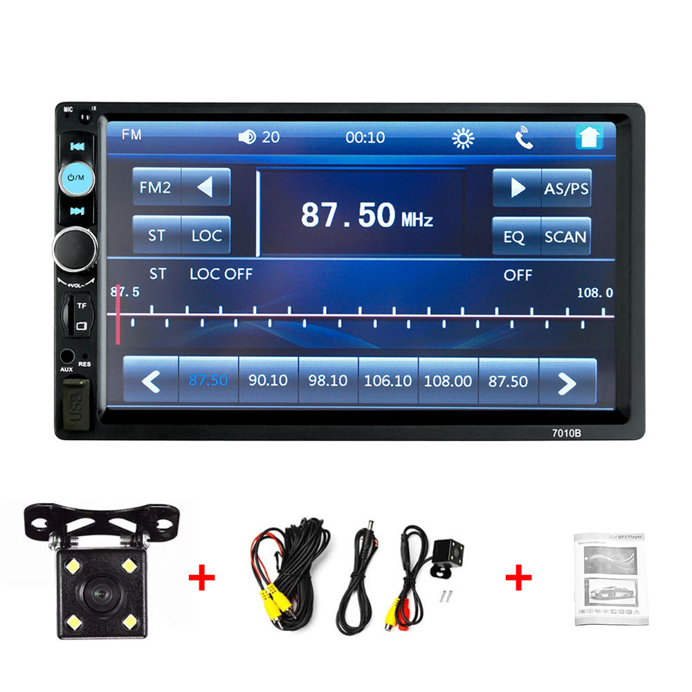 2 din 7inch player universal multimedia mp5 car radio player