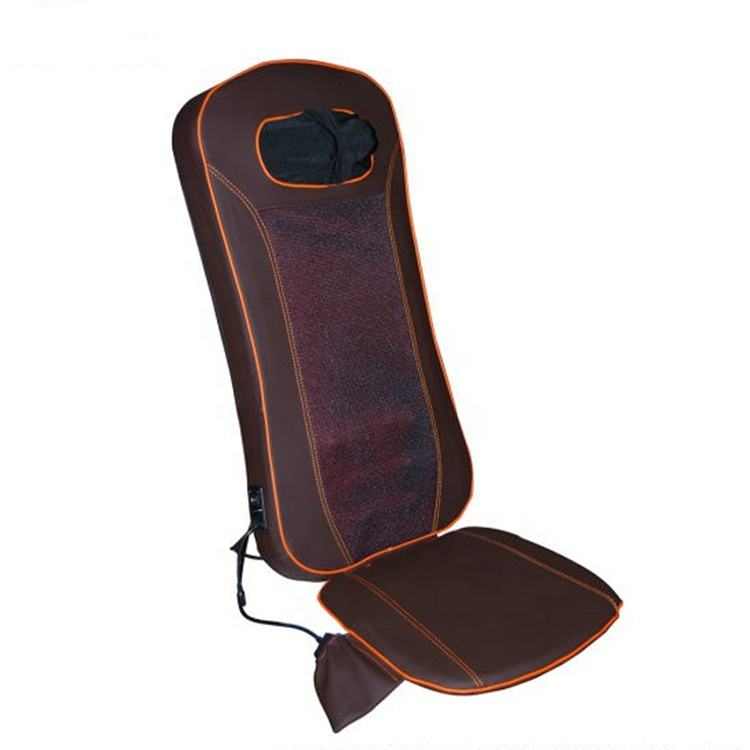 3d Shiatsu Jade Stone vibration shiatsu heating massage cushion