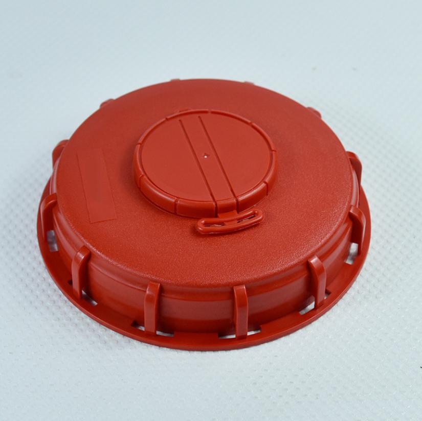 1 Pc IBC Water Tank Cap Container Cover Lid Cap Plastic Home Supplies Orange