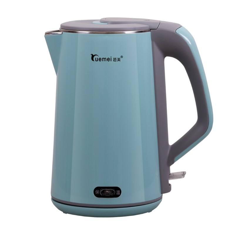 Yuemei hot smart portable travel home appliances electric kettle set electric water boiler stainless steel electric kettle