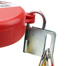 Interlocking Butterfly Tamper Lock Hasp Lockout Tagout holds op to 8 padlocks