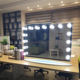Hollywood Lighted Mirror Makeup Vanity Mirror Desk Mirrors With Dimmer