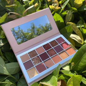 New Custom Beauty Makeup Private Label Pressed Glitter Eyeshadow Palette