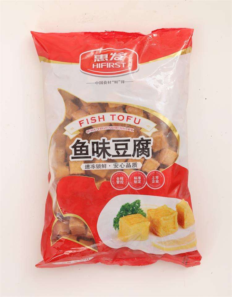 Best Seller Frozen Food And Seafoods Surimi Chinese Taste Food Hifirst Fish Tofu