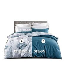 AB design satin duvet cover set personalized famous brand bedding