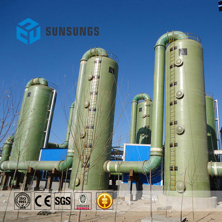 Dust and flue gas sulphur gas ammonia washing wet scrubbers/Gas Desulfurization Manufacturer