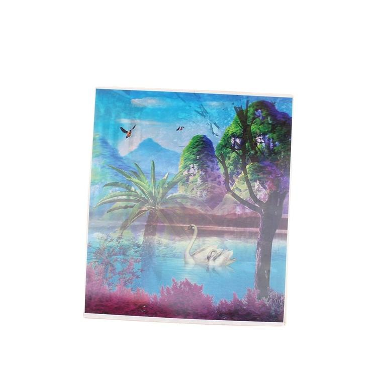 hot picture high quality beautiful 3d lenticular printing