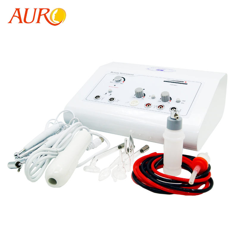 AU-303A 4 in 1 beauty instrument high frequency vacuum spray galvanic facial massage machine