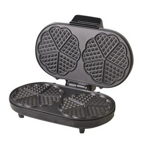 1000W Stainless steel Double waffle Maker With Thermostat Control
