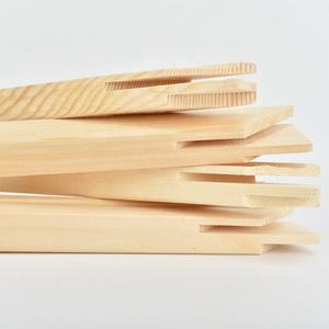 Wholesale Custom Size 3.6 Width Light Wood Finger Joint Stretcher Bars for Canvas