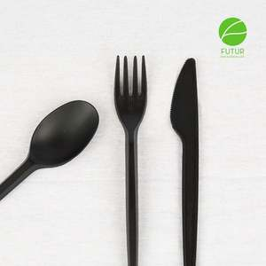 Hot sale Eco Friendly Food Grade Healthy Biodegradable Plastic PLA Cutlery Set Plastic