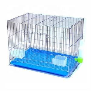 Foldable indoor small pet parrots bird cages metal wire materials bird cage