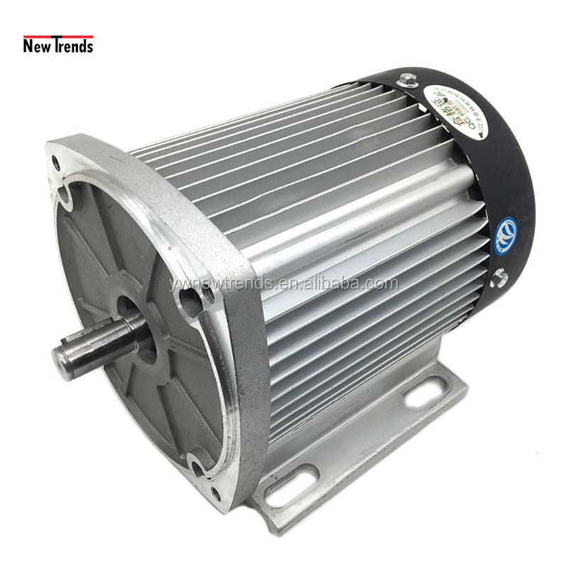 1000W 48V60V72V High Speed DC Brushless Motor for DIY Electric Motorcycle Three Wheel Ebike
