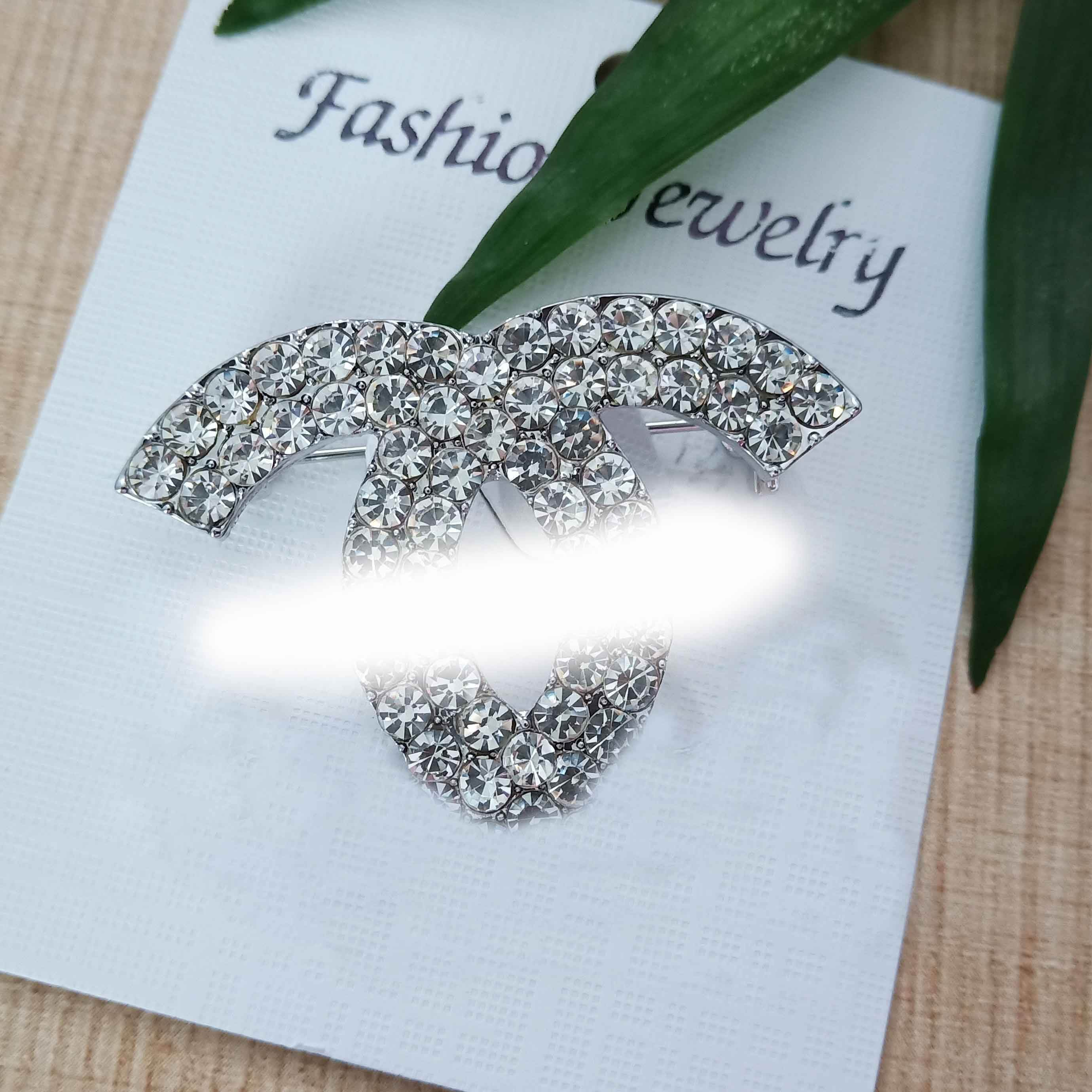 Hot sale Silver jewelry 925 sterling gold channel brooch pin wholesale