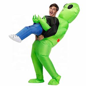 Alien Inflatable Costumes Fancy Costume Halloween Cosplay Fantasy Costume