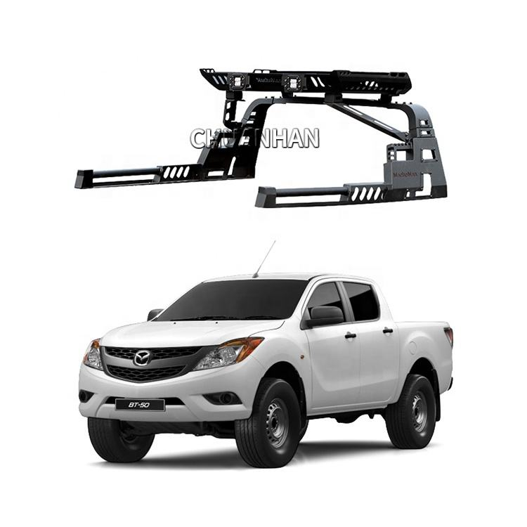 OEM carbon steel Pickups Truck 4x4 Roll Bar for Mazda Bt-50 Isuzu Dmax Great wall