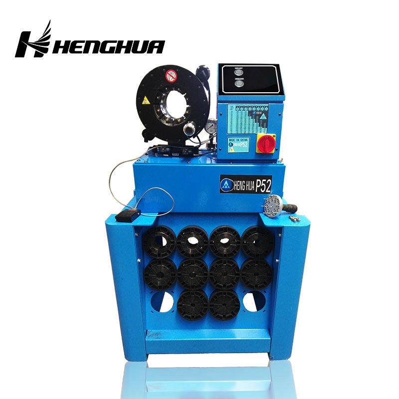 High Precision and Good Flexibility Automatic Hydraulic Flexible Tube Crimper / Rubber Hose Crimping Machine For Sales Price