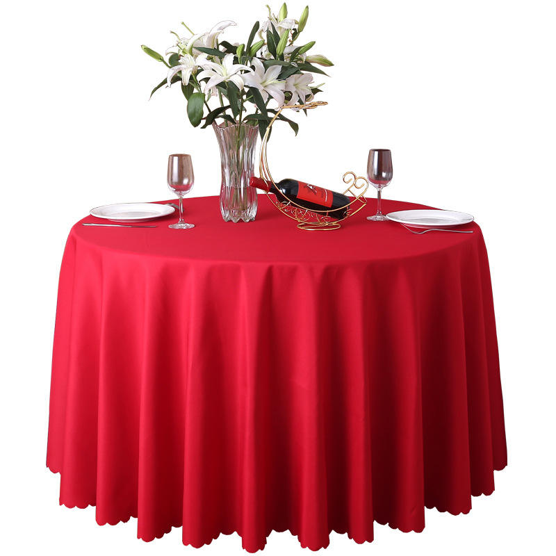 Factory Direct Restaurant Hotel Banquet Round Table Cloth