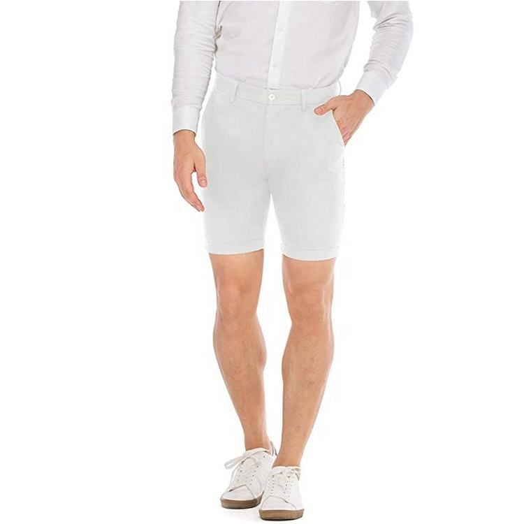 Summer Hot Sale Various Comfortable Private Label Short Chino Painter Pant White
