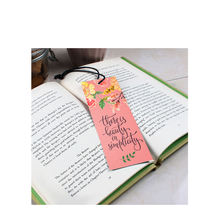 Hot sale custom 4C printing book mark for book bookmark printed with tassel