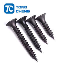 black  high   tension   drywall  screw