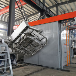 CE Certificated multy function automatical Rotational Molding Machine in China