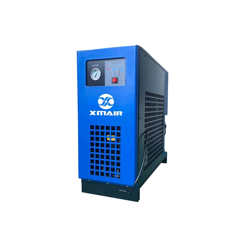XMAIR high quality air cooled refrigerated compressed air dryer1.3m3/min for screw air compressor