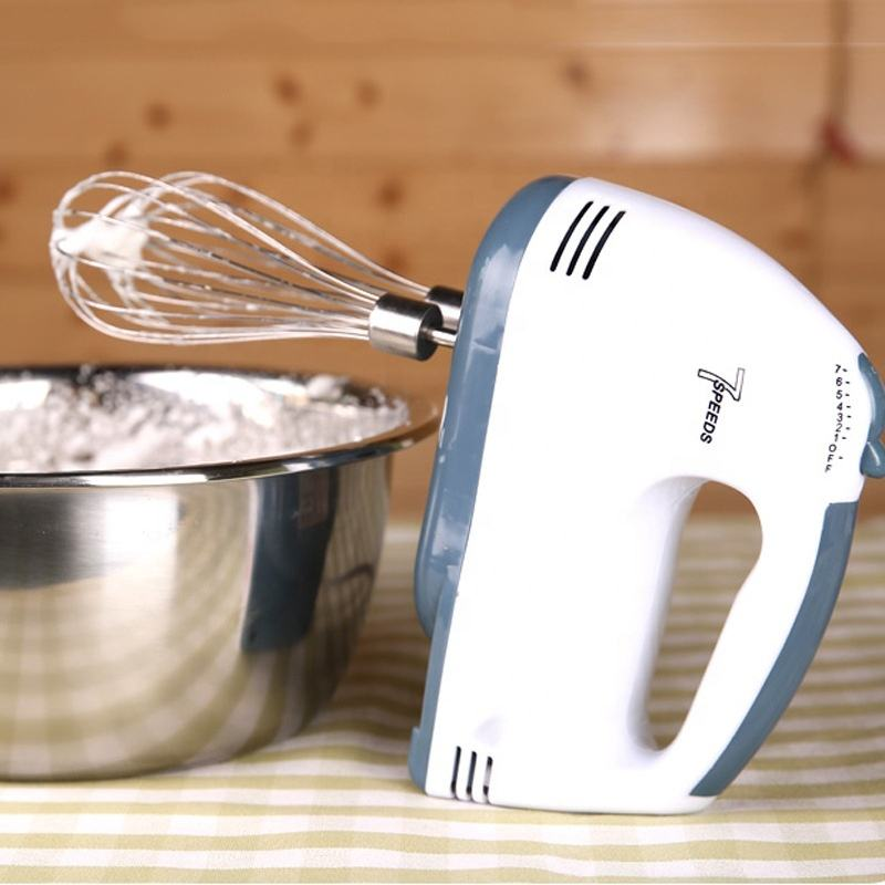 Kitchen 150W Food Mixer 7 Speed Hand Mixer With Stir Bar And Dough Sticks Wholesale