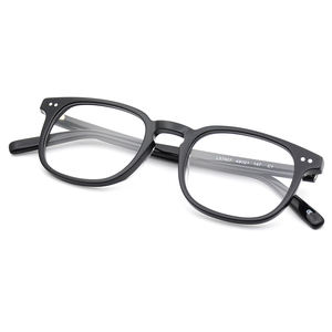 Designer handmade acetate glasses factory direct OEM high quality custom logo acetate optical frame eyeglasses