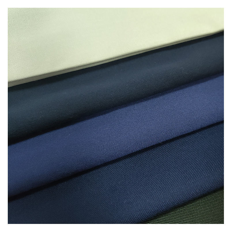 keqiao warehouse 5000m2 best selling Fashion Men 78% Polyester 18% Rayon 4% Spandex tr fabric for pants