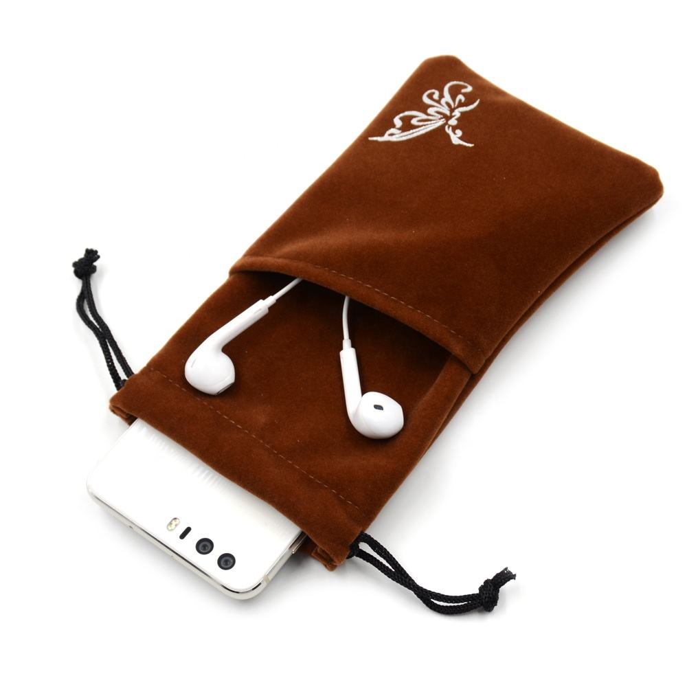 Custom Logo Heat Transferal Cotton Bag Gift Drawstring Pouch
