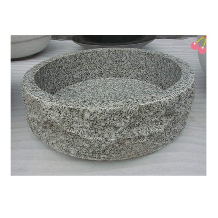 Beautiful natural granite laundry basin